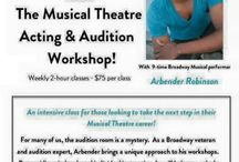 Workshops, Events, and Auditions