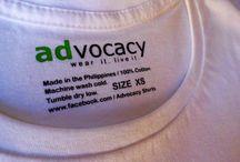 Advocacy Shirts/ Apparel www.facebook.com/Advocacy Shirts / Advocacy Shirts/ Garments / by Cori Baybay