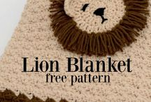 Lion pattern Chrochet