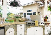 Outdoor Kitchen / by Melissa Jones Callahan