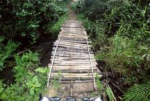 Cross Country Mountain Biking Route / Nakhon Si Thammarat to Krabi Province through rural southern Thailand where no other visitors go.