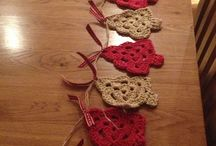 crochet vianoce