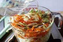 Salads + Vinaigrettes
