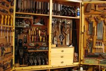 Tool Chests / Beautiful wooden tool storage containers