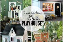 play houses / by Tressa Paavola