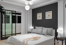 Bedroom Design Ideas / by Karina F