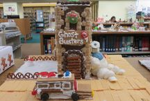 Gingerbread Inspiration / Every December, the River Falls Public Library has an annual Gingerbread Contest. The public is invited to submit their gingerbread creations to the library to be judged and displayed for the community to view. This board is a place for gingerbread inspiration.