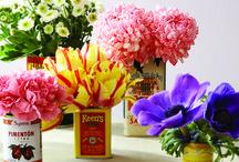 Tableau floral / Inspirez-vous de ces jolies images pour laisser entrer le printemps chez vous! / by Magazine Châtelaine