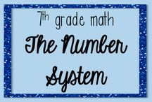 7th Grade Math The Number System Resources / This board is devoted to pins of resources for The Number System Domain of 7th grade math. Email me at jessicabarnettresources@gmail.com if you would like to become a collaborator on this board!
