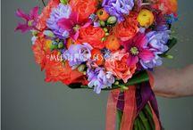 Bruidsboeketten  /  Bridal bouquets