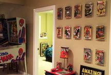 Display Ideas / Hot Toys and comics display ideas.