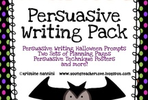 Persuasive Writing / by Susanne Vitantonio
