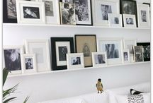 Decor ideas / Ideas for how to decorate coffee tables, walls; some DIY and smart solutions to save space