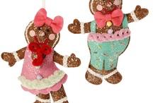 RAZ 2013 Chocolate Moose Christmas decorations