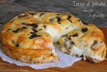 torte  salate e pizze