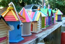 Birdhouses / by Mickey Quarles
