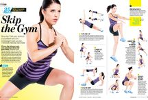 At-home workouts / Workouts that can be done from the comfort of your home.