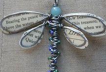 Alas mariposas  libélula