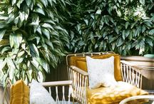 Outdoor Spaces, Style, Decor, and Design / Holding sacred space in our outdoors spaces at home, studio, on a deck, patio, or garden with plants, crystals, texture, craft, bohostyle, minimalism, and natural decor and style. Outdoor home decor and style / inspiration for the well traveled and those who dream.