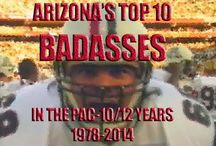 Badass series / The baddest of the badasses of Arizona athletics. Check out our football and basketball series at the site.