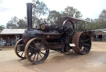 Black Bess / The Pioneer Settlement's c.1920 Fowler Z7 Ploughing Engine