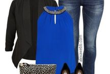 Fashion Styles - Fuller figure / Fashion trends, styles etc