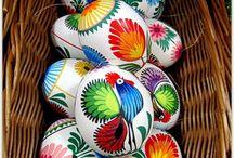 Malede æg