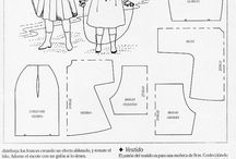 Pattern for dolls