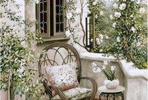 Balcony & Backyards