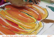 Primary art ideas