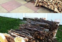 uložit dřevo exteriér