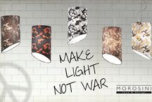 Pank Camouflage - Morosini / Inspired by iconic military staple pieces, Morosini presents a Camouflage version of the Pank collection, experimenting with the latest innovations of digital fabric printing with light.    The already versatile collection is enriched with new and deliberately provocative textures  in line with the latest fashion trends, offering new ideas and inspirations for décor of interior but also of public spaces, according to your personality.