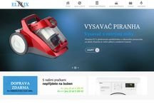 Elnix.cz / sreens from our eshop, sale banners