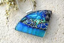 Glass-fusing / Smykker og dekor i glass