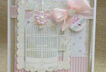 Cards--Birds,  Cages & SU Avairy