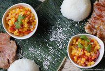 W krainie obfitości Mango/Przepis na tuńczyka z grilla z salsą z mango i rum a la Receta