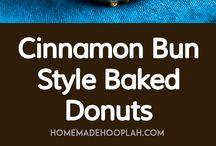 donuts and cinabonn /sugar free option