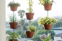 Clay pots upcycle