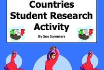 Spanish Projects, Webquests,  Activities