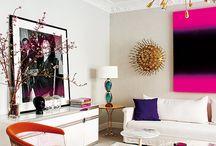 Living Room Pop Art