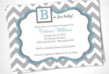 Blue & Gray Chevron