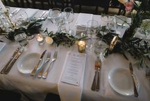 Criffel Woolshed Table Settings