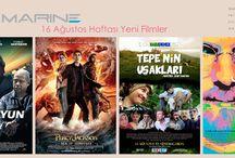Cinemarine'de 16 ağustos / Bu Hafta Cinemarine'de.