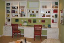 playroom wall unit
