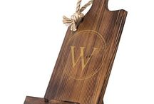 wood book stands