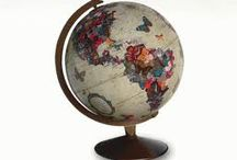 Indoor Atmosphere / Vintage Globe