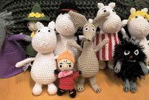 Moomin / Crocheted moomin amigurumi