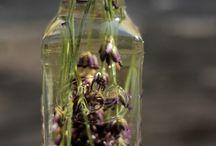 sirupy, šťávy a bylinné oleje