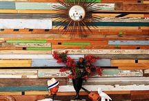 Wall treatments / by Linda Coffey