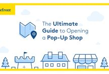 The Ultimate Pop Up Guide / Tips, tricks and hacks to help you launch a successful pop-up shop. Happy pinning & spread the love!